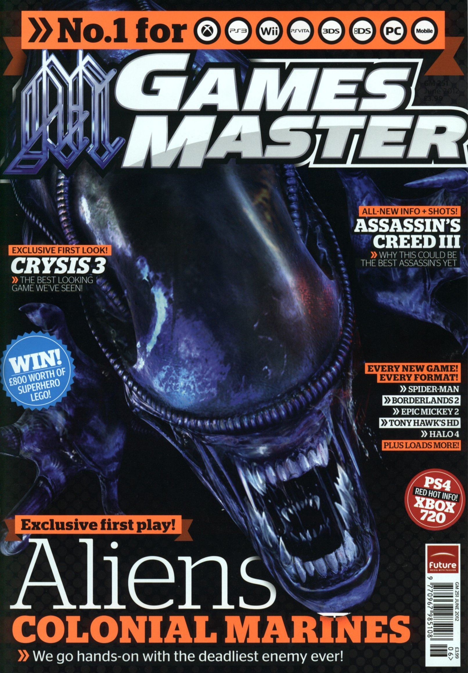 Aliens: Colonial Marines in Games Master