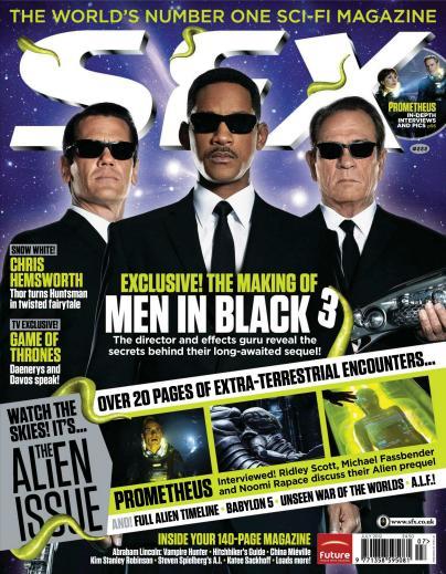 Prometheus SFX Magazine Scans