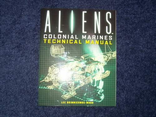 Aliens Colonial Marines Technical Manual Review