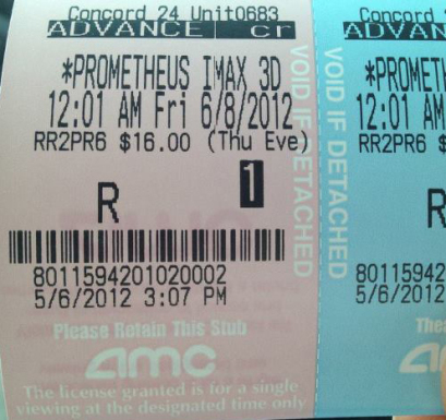 R-Rating for Prometheus?
