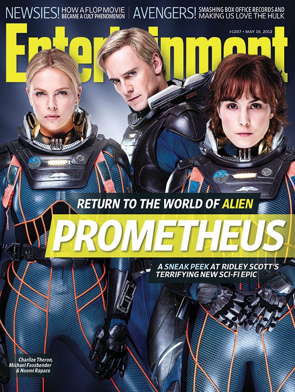 Prometheus Cover on Entertainment Weekly [Updated]