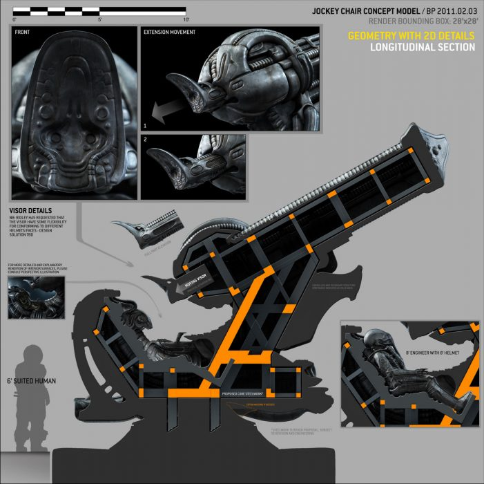 New Prometheus Concept Art, Videos and More
