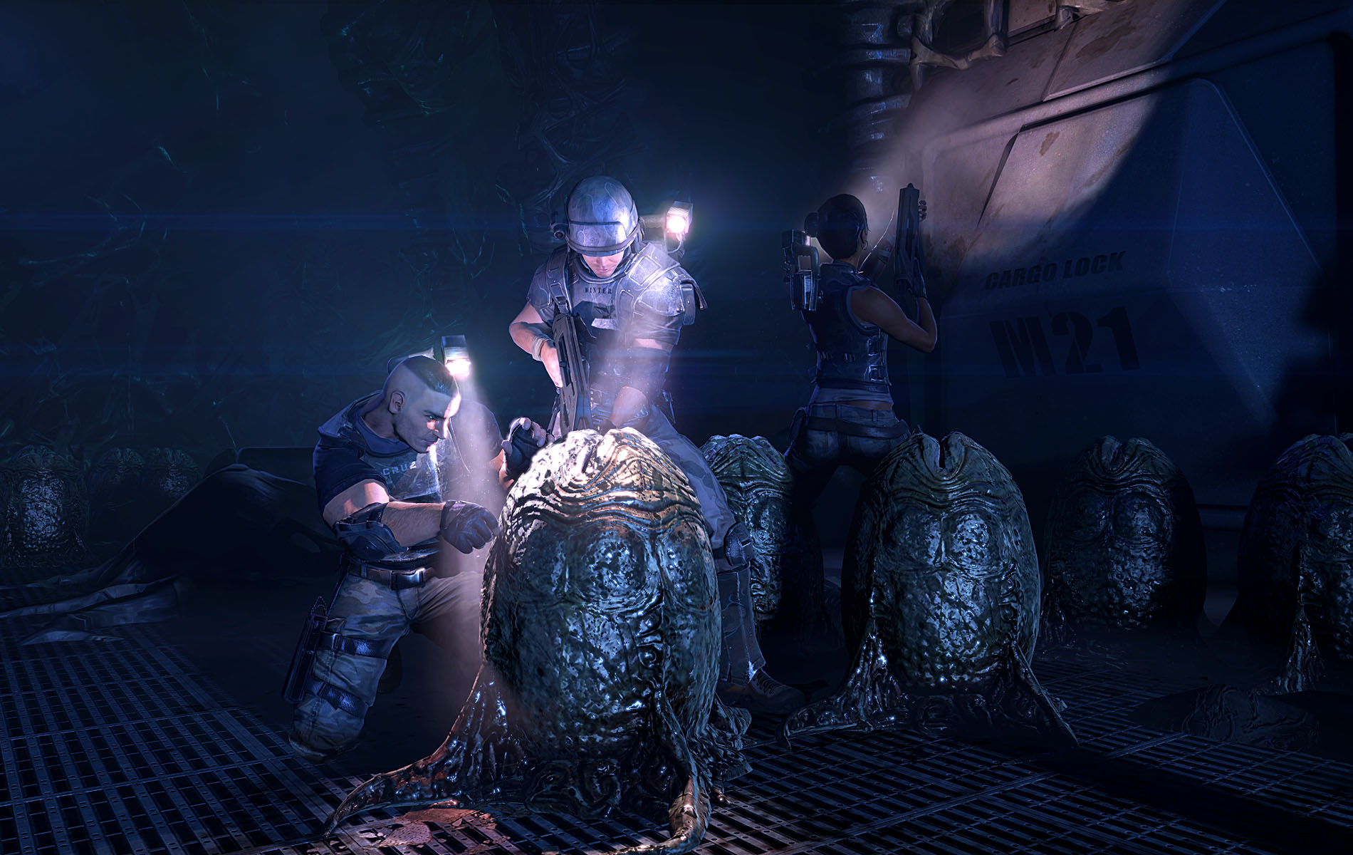New Aliens: Colonial Marines Screenshots