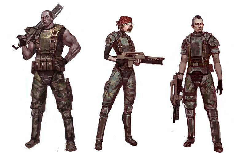 Playable Females in Aliens: Colonial Marines Announced