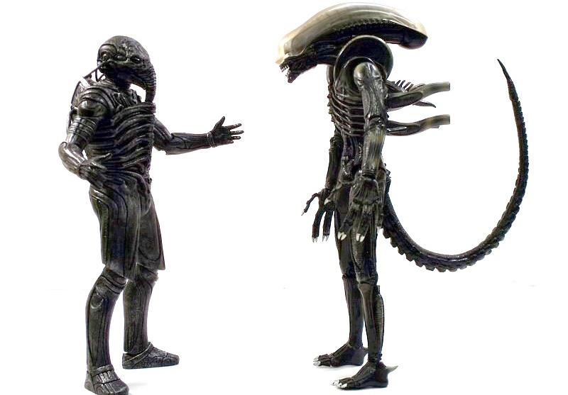 NECA's Prometheus Series 1 Figures Review Images