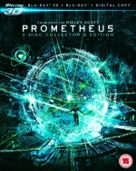 Prometheus Blu-Ray Cover Prometheus Blu-Ray Collector's Edition Review
