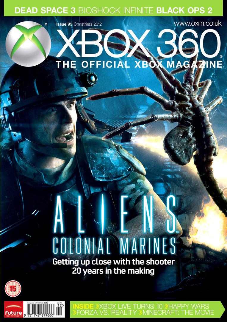 Aliens: Colonial Marines in Xbox Magazine