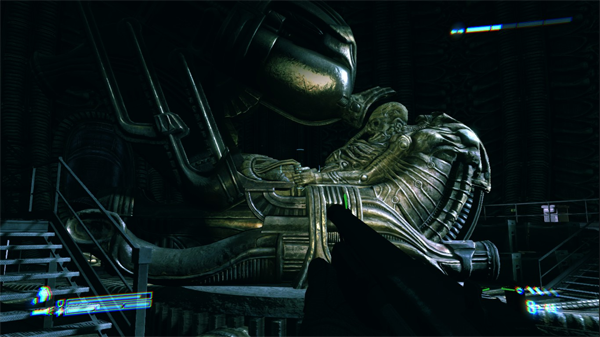 Space Jockey Aliens Colonial Marines Review