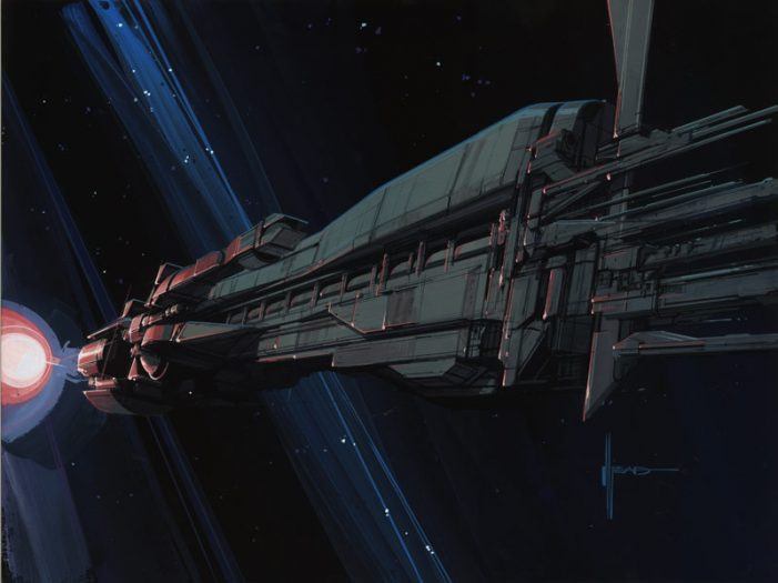 Syd Mead U.S.S. Sulaco Print Giveaway