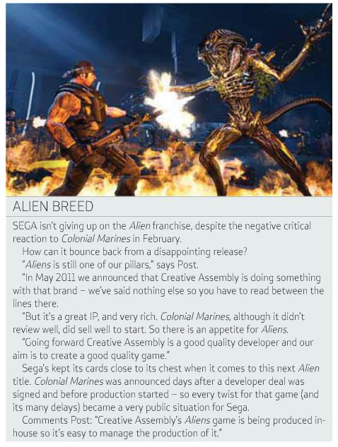 MCVInterview Sega Talks A:CM & Creative Assembly's Alien Title