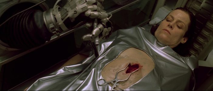 Ripley Alien Resurrection Deleted Scenes