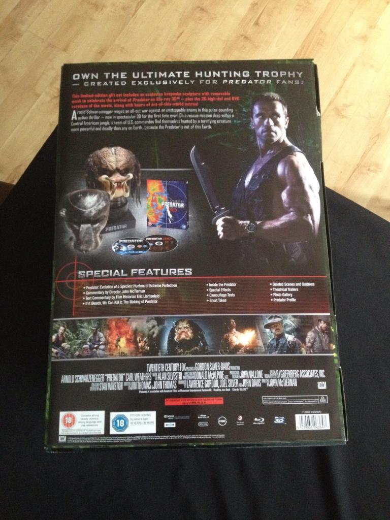 Predator 3D Limited Edition 'Predator Head' - AvPGalaxy