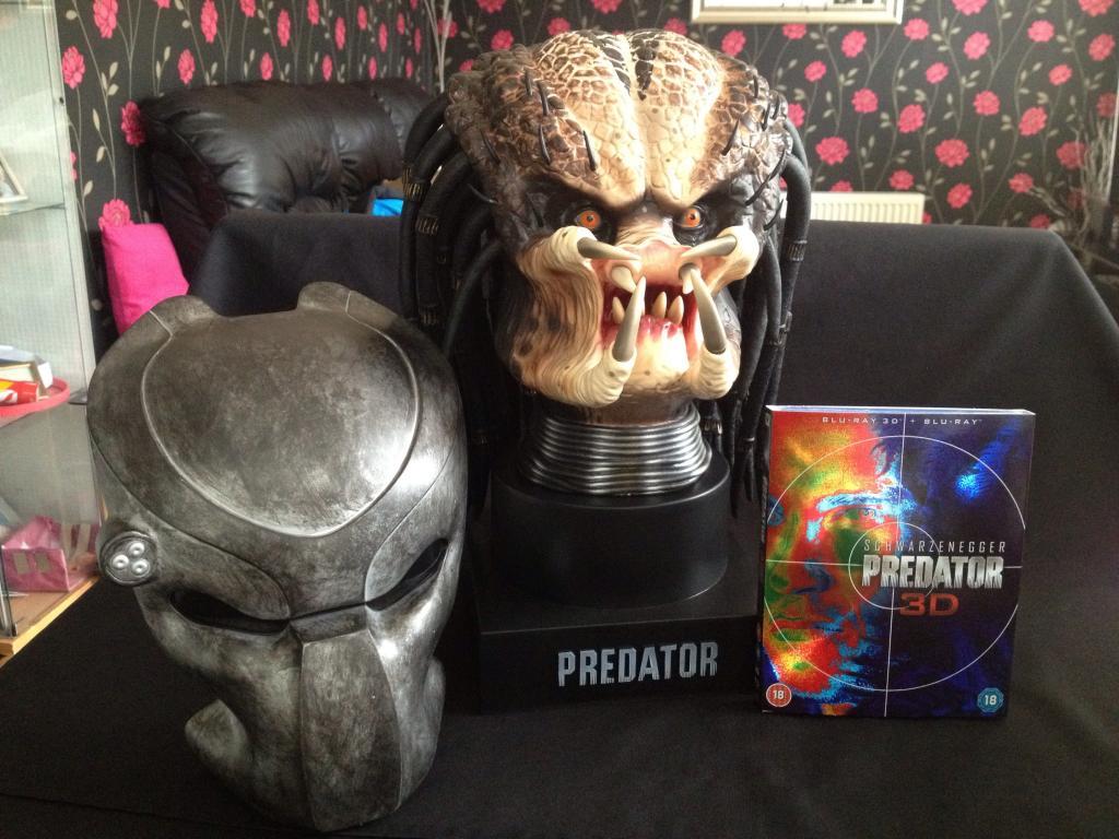 Predator Head Predator 3D Limited Edition 'Predator Head'