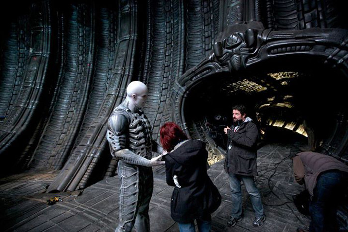 Charles De Lauzirika and Ian Whyte on location in the Orrey. Charles De Lauzirika Interview
