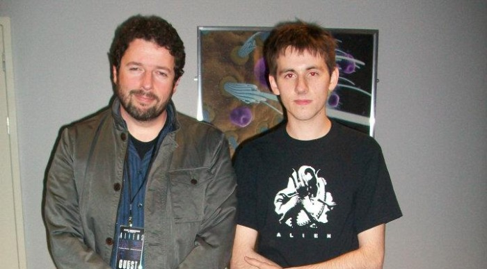Charles De Lauzirika & Aaron Percival (Corporal Hicks) at the Aliens 25th Anniversary Convention in Leicester Charles De Lauzirika Interview