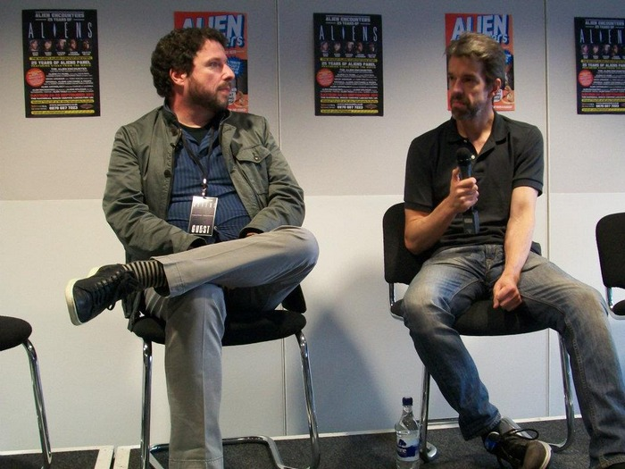 Charles De Lauzirika & Aaron Percival at the Aliens 25th Anniversary Convention in Leicester Charles De Lauzirika Interview