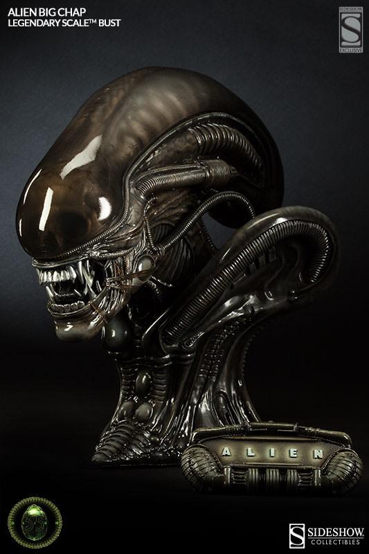 Alien 'Big Chap' Legendary Scale Bust - AvPGalaxy