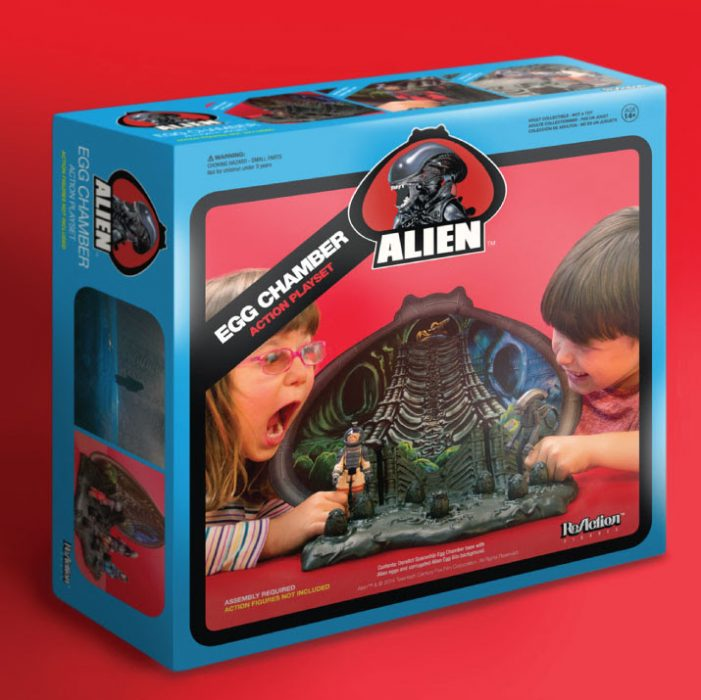 Alien ReAction Egg Chamber Playset Alien & Predator Comic-Con 2014 Merchandise