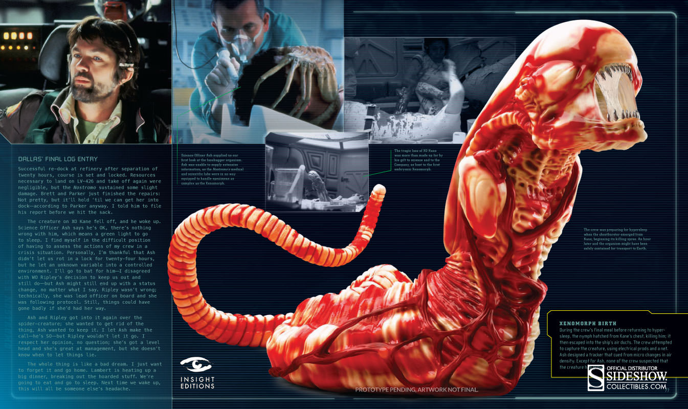 alien the weyland yutani report collectors edition