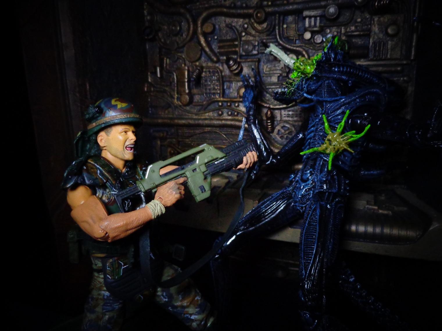 Neca Aliens Series 1 Hicks Hudson Amp Alien Warrior
