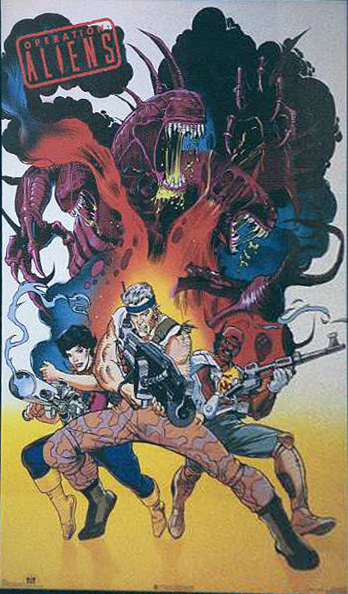 Operation Aliens Poster Operation: Aliens