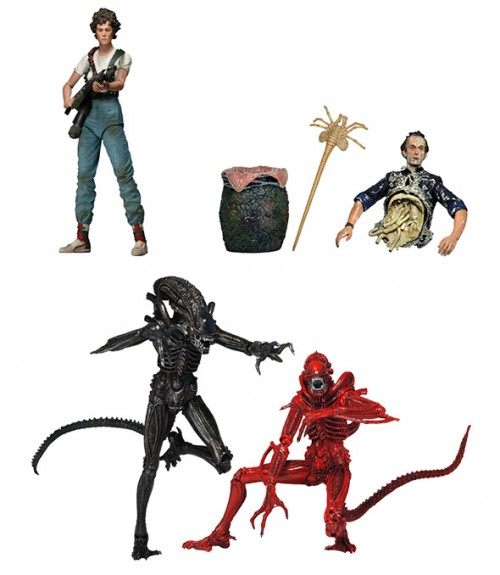 290515_02 NECA Aliens Series 5 Features Ripley, Bishop, Xeno Warriors