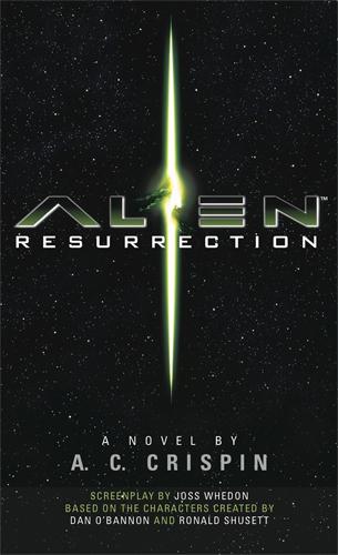 The cover art for the Alien Resurrection novelization.  Alien Resurrection Novelization Review