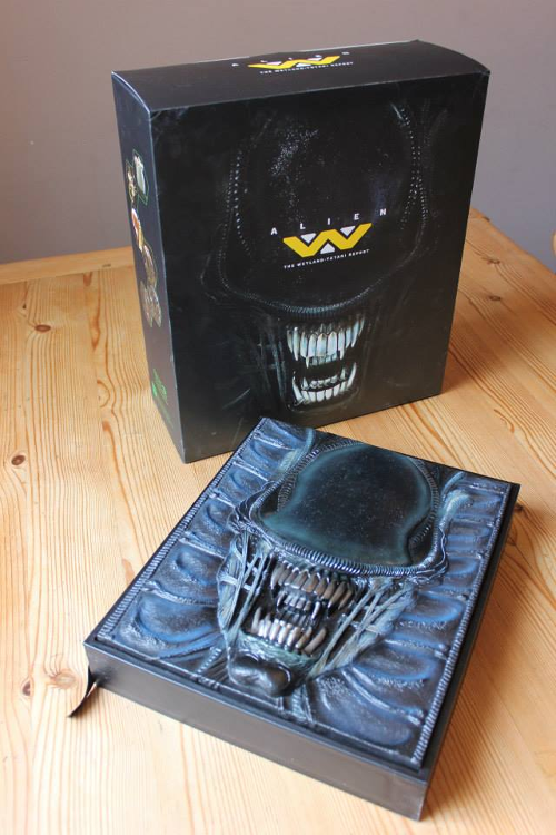 080615_02 Alien: The Weyland-Yutani Report Collector's Edition Preview