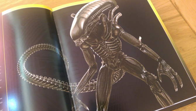 One of many pieces of Markus fantastic Alien artwork.  Alien: The Weyland-Yutani Report Preview