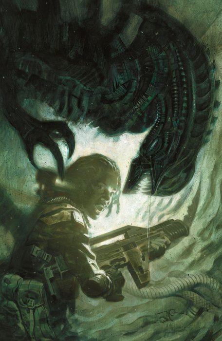 AliensDefiance1_Massimo_Carnivale Dark Horse Announces Aliens: Defiance Comic Series