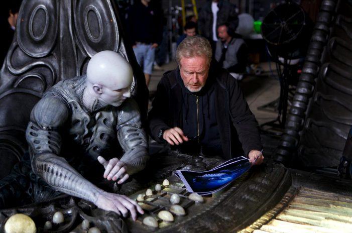 Ridley Scott & Engineer Alien 5 Delayed
