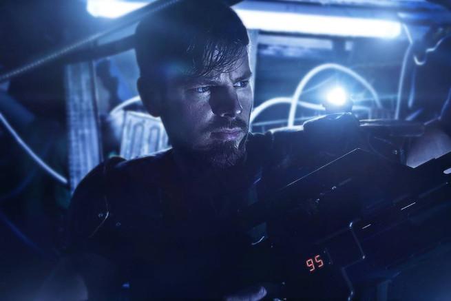 Tobias Vomfelde of Basement Props in a test shot for Aliens: The Last Stand. Aliens: The Last Stand - Aliens Fan Film