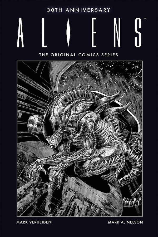 The cover for Aliens 30th Anniversary: The Original Comics Series Aliens 30th Anniversary: The Original Comics Series