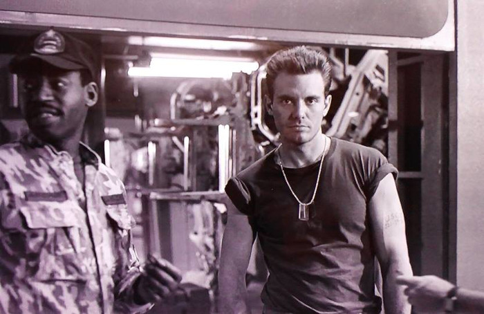 "Talking about Alien 5, Michael Biehn (seen here with Al Matthews on the set of Aliens) says: ""it's really a passing of the torch between Sigourney and this younger actress who would play Newt."" Michael Biehn Talks Alien 5 -"