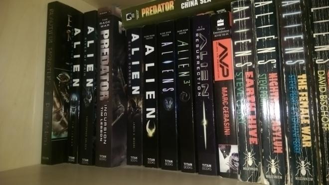 Predator - Incursion on the shelf.  Predator - Incursion (The Rage War Part 1) Review