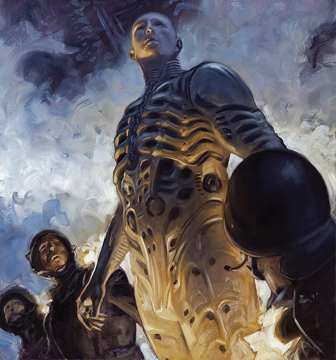 Prometheus: Life and Death #1 cover art by David Palumbo.  Comics Update - Aliens: Defiance, Prometheus/Predator: Life and Death