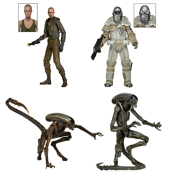 NECA Aliens Series 8 has been unveiled on NECA's website. NECA Aliens Series 8 Unveiled