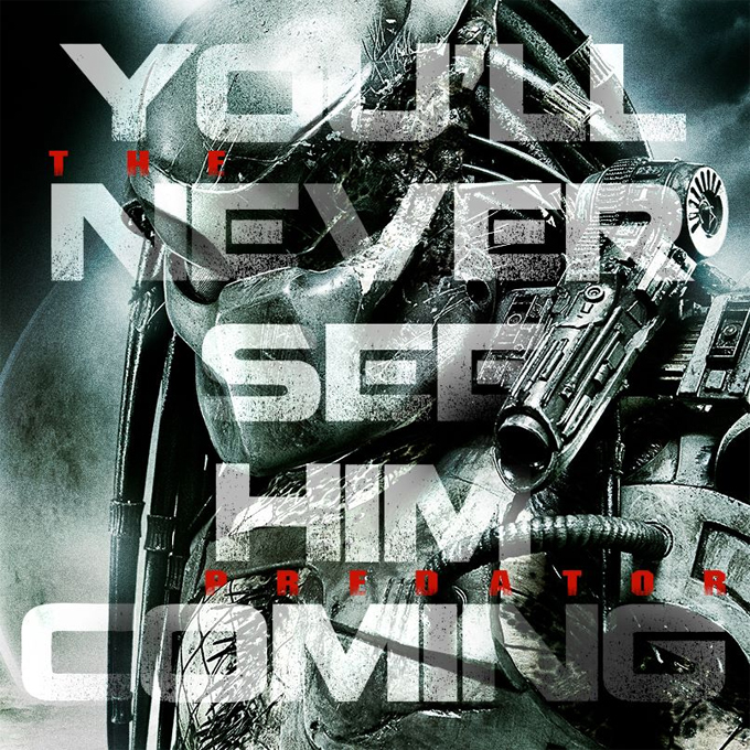 Shane's Black Predator 4 is The Predator Shane Black's Predator 4 is The Predator!