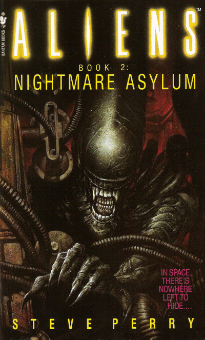 The cover art by Dave Dorman for the US release of Aliens: Nightmare Asylum. Aliens: Nightmare Asylum Review