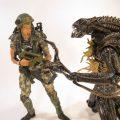Hudson vs Xenomorph NECA Aliens Series