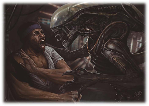 The Alien Anthology Trading Card Set will contain artwork based on the films rather than screen captures. Alien Anthology Trading Card Set Announced!
