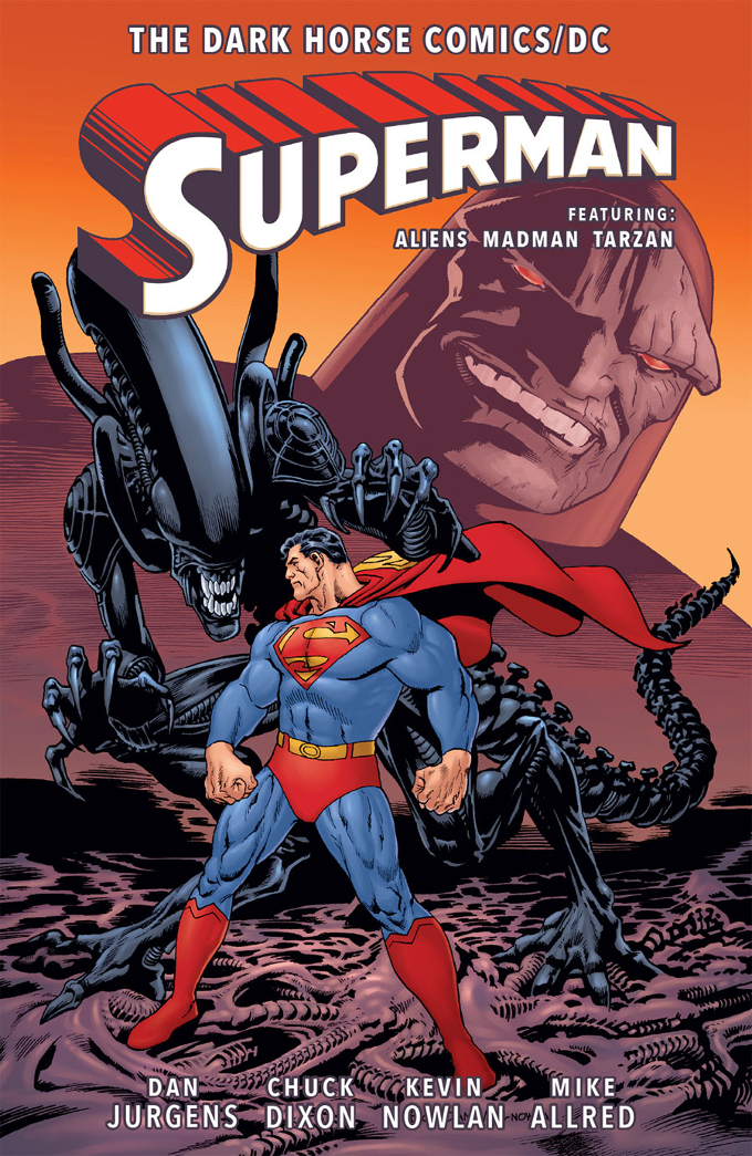 The Dark Horse Comics/DC: Superman will include both volumes of Superman vs. Aliens. Comics Update - Aliens: Defiance, Life and Death & The Dark Horse Comics/DC: Superman TP
