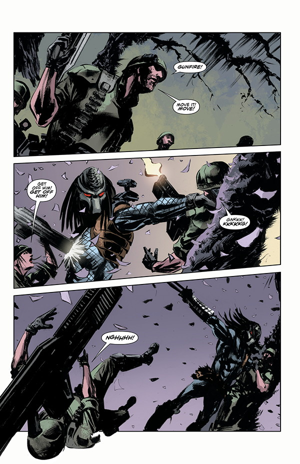 The Predator: Life and Death #2 preview is now available! Predator: Life and Death #2 Preview