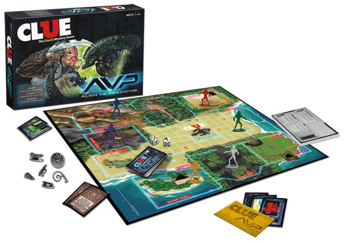 avp_clue_pr_web Alien vs Predator Clue Coming Soon (Cluedo Board Game)