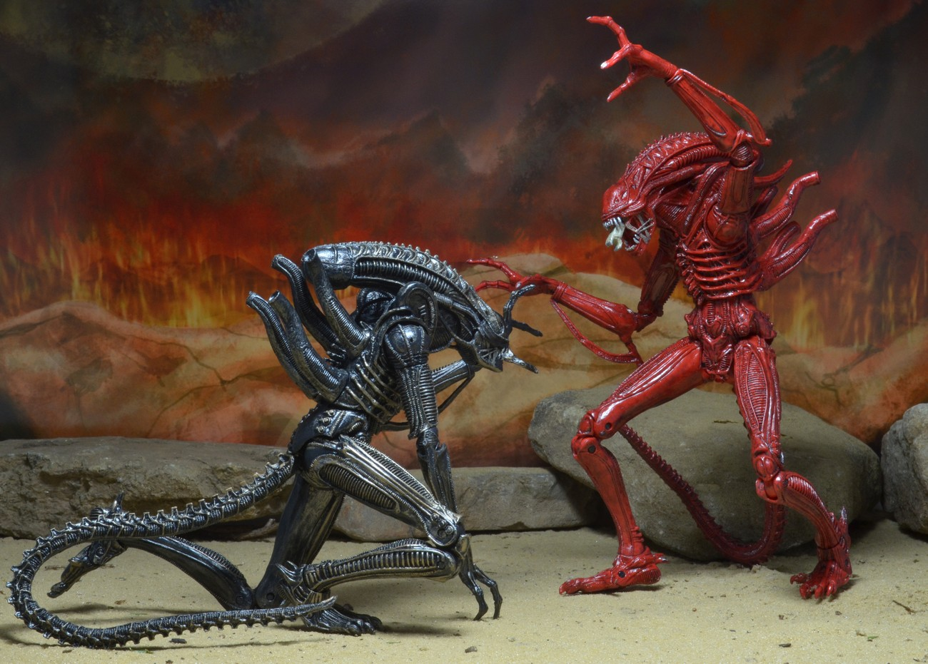 neca aliens red queen aliens genocide avpgalaxy