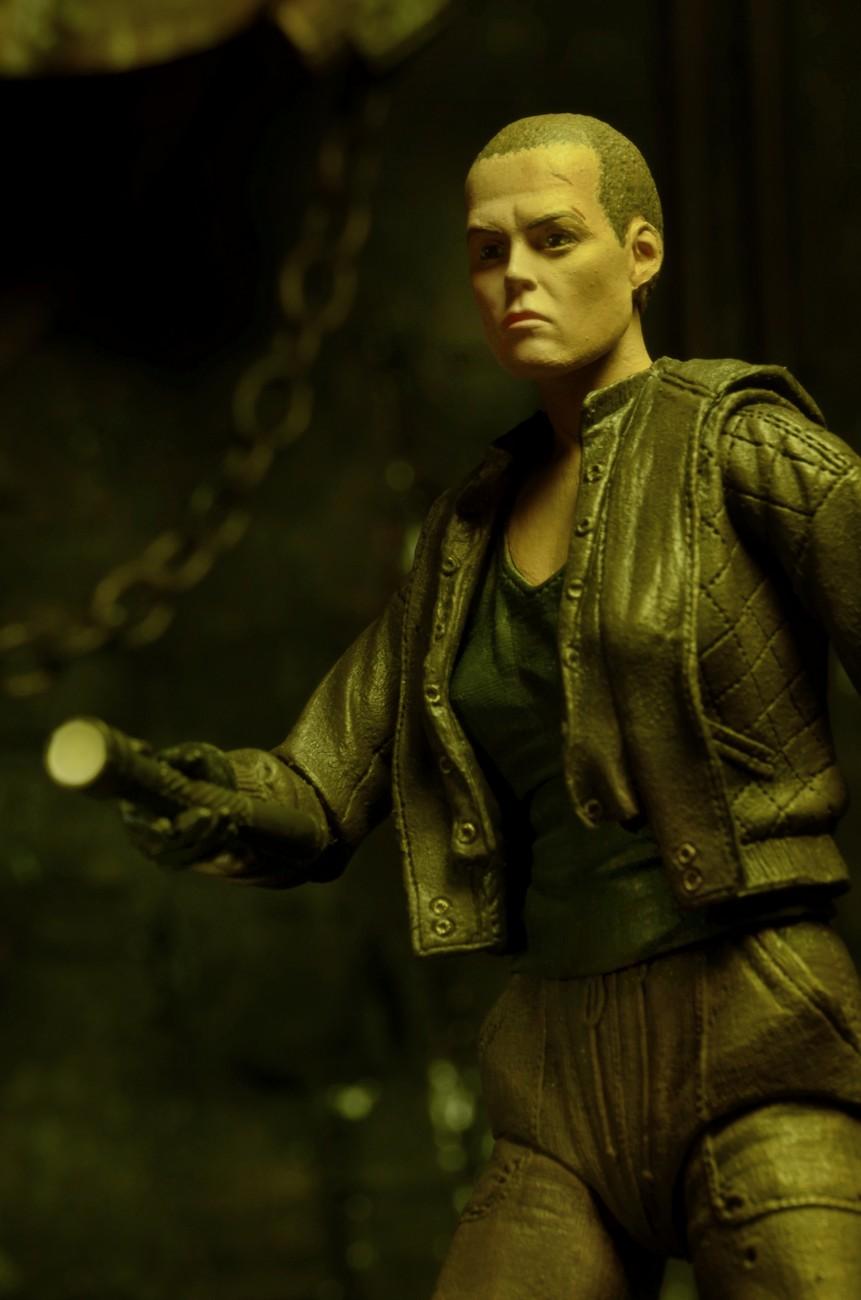 NECA Aliens Series 8 (Ripley, Weyland-Yutani Commando, Dog