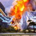 Explosion Seen on Location of Alien: Covenant