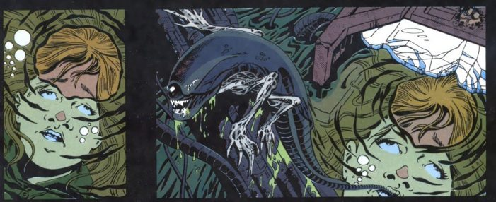 Newt in Alien 3 comic. Newt