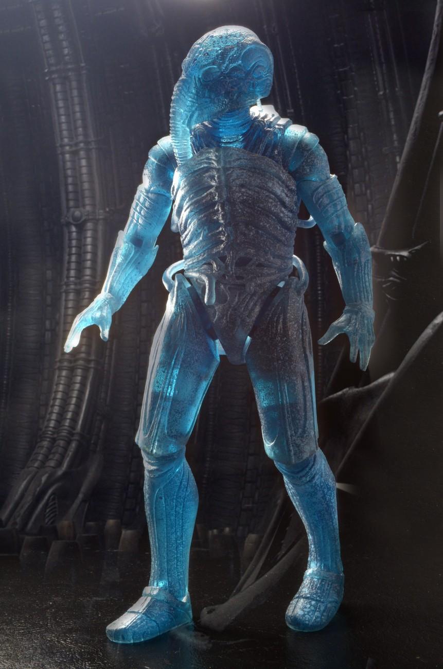 Action Figure Ampule Chair Suit NECA Prometheus Holographic Engineer
