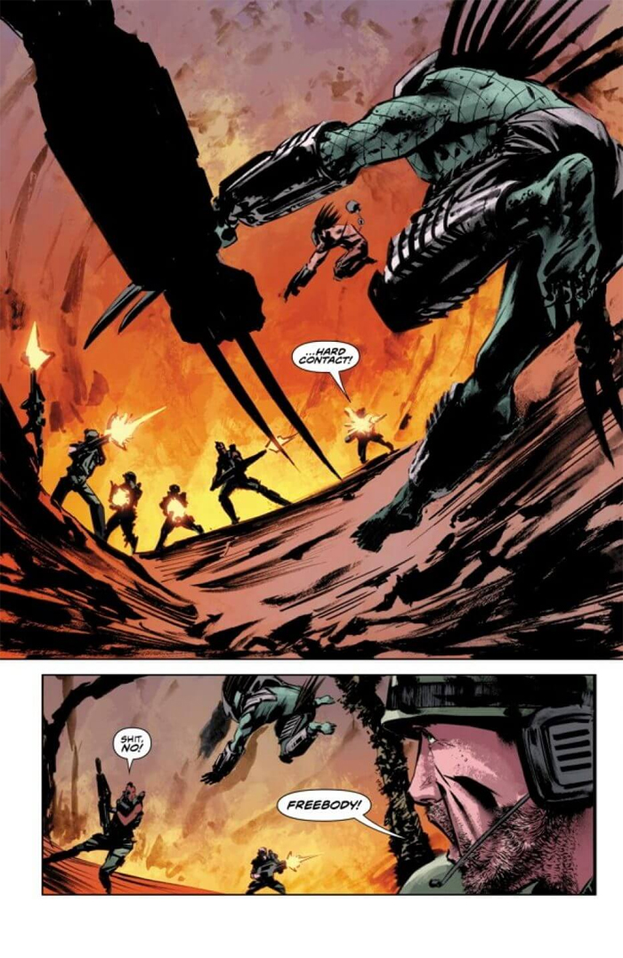 The Predator: Life and Death #3 preview is now online! Predator: Life and Death #3 Preview Online
